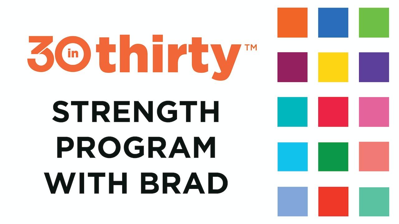 On Demand 30inThirty™ Strength Program with Isophit Inventor Brad Thorpe