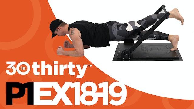 Runner's Plank [P1EX18-19]