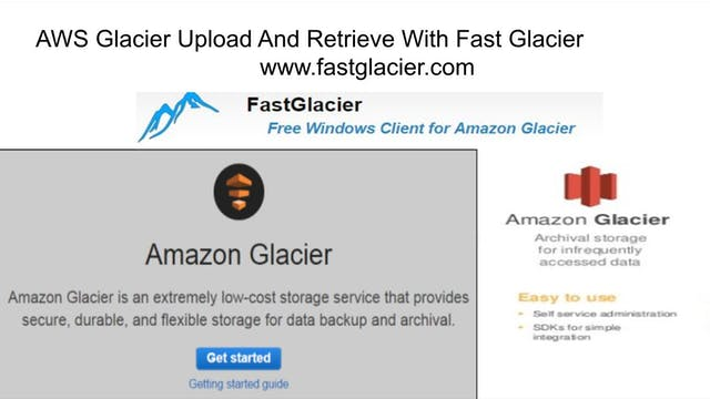 AWS Glacier Upload And Retrieve With ...