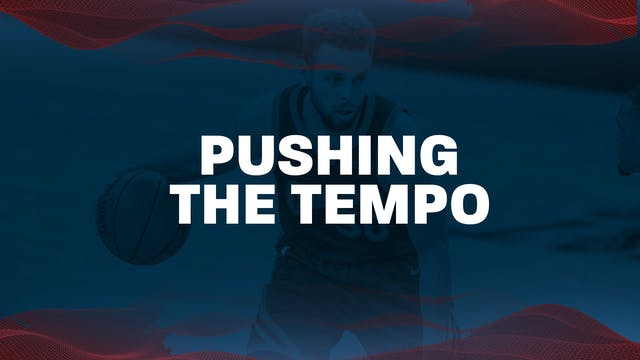 2. PG Pushing the tempo