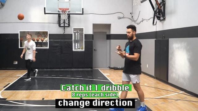 Dribble Handoff Beginner