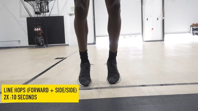 Extensive Plyo Warm-Up