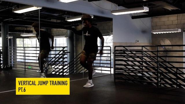 Vertical Jump Training Pt. 6