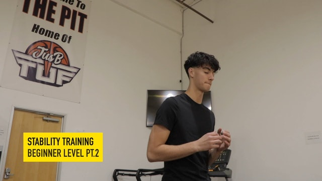 Stability Training Beginner Level Part 2