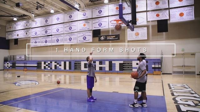 One Hand Form Shots