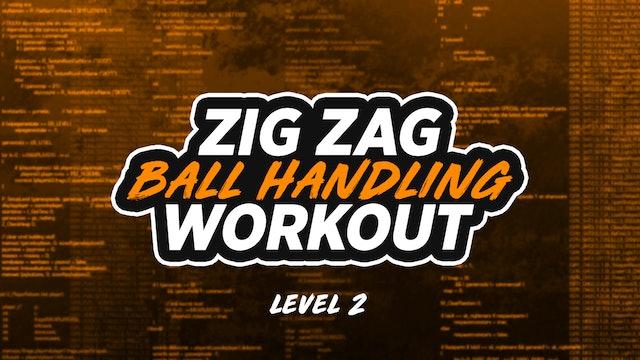 Zig Zag Dribbling: LVL 2