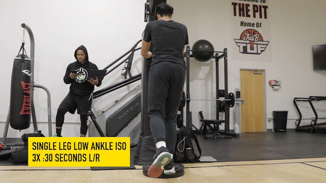 Foot + Ankle Integration Intermediate Level Part 1