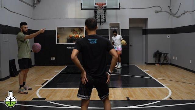Three pointers (Catch & Shoot)
