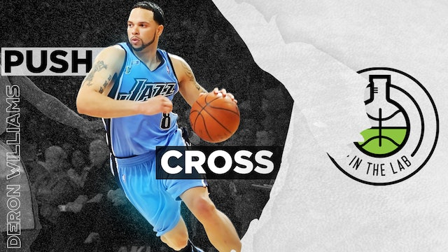 Deron Williams Push Cross