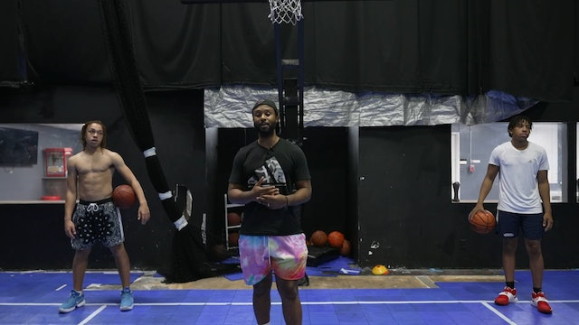 Dribble Hand Off Workout - Beginners