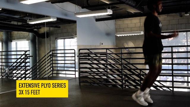 Vertical Jump Training Pt. 7