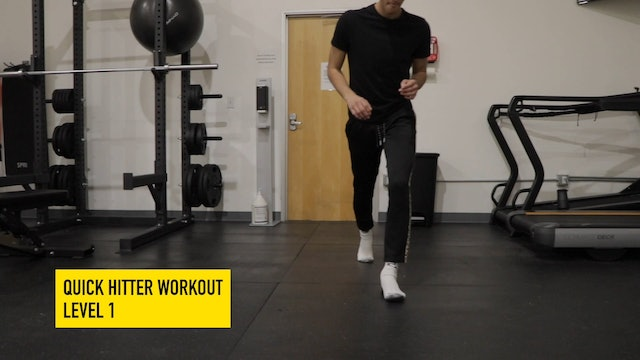 Quick Hitter Workout Level 1