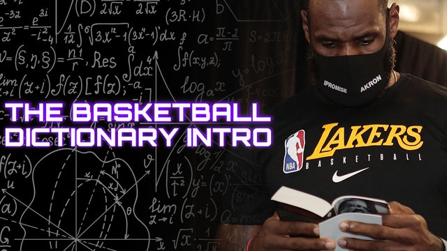 The Basketball Dictionary Intro