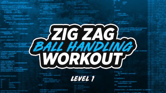Zig Zag Dribbling: LVL 1