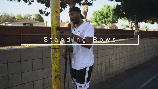 Standing Rows