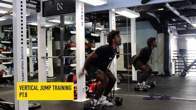 Vertical Jump Training Pt. 8