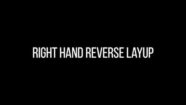 Right hand reverse layup
