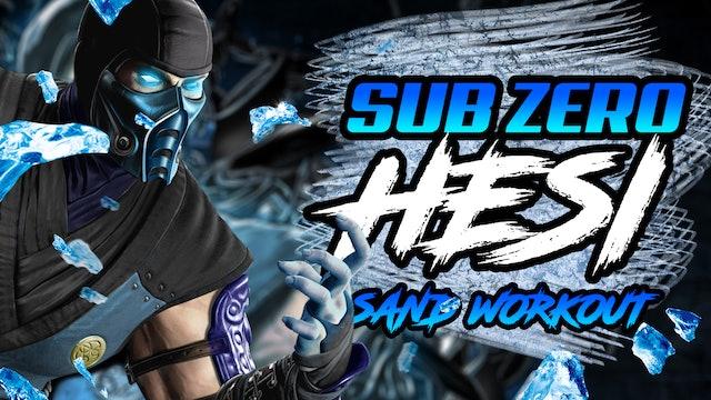 Sub Zero Sand Workout