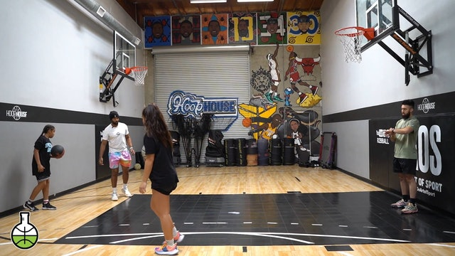 one dribble pull ups
