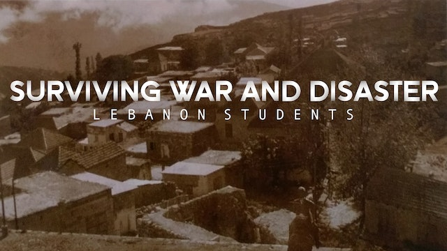 Lebanon Students : Surviving War and Disasters
