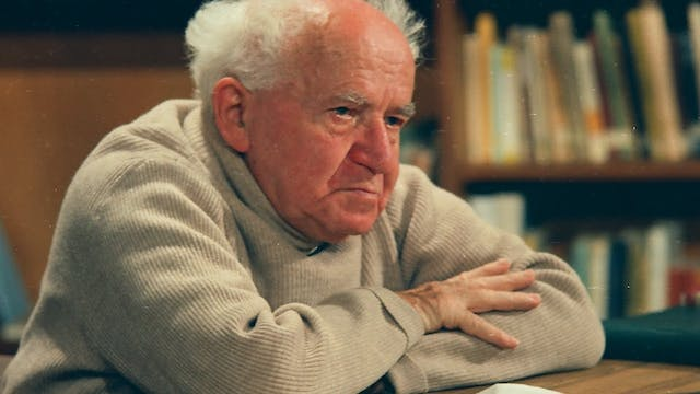 "The Making of ""Ben-Gurion, Epilogue"""