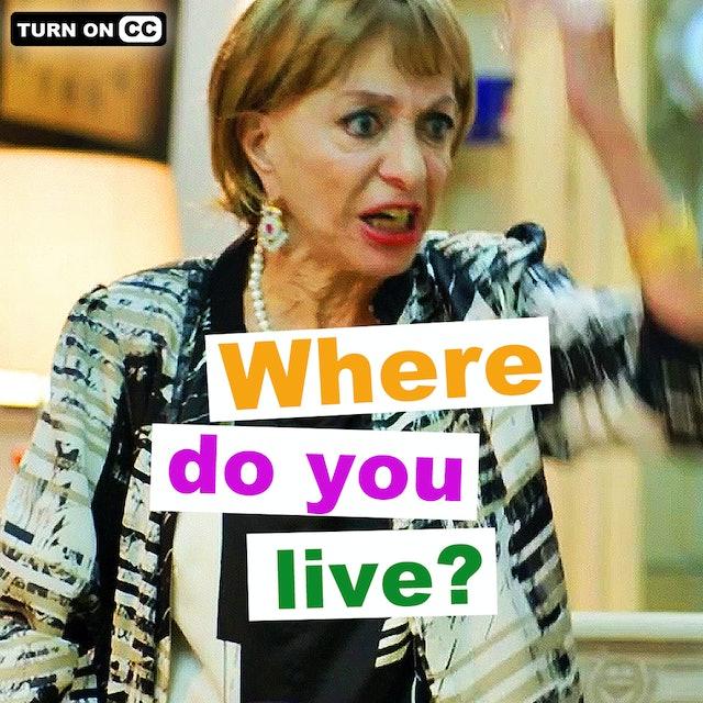 Where Do You Live? -  Season 1, Episode 1