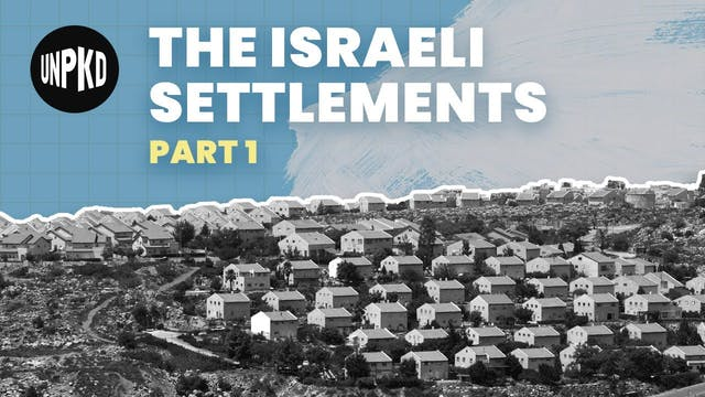 What are the Israeli settlements?