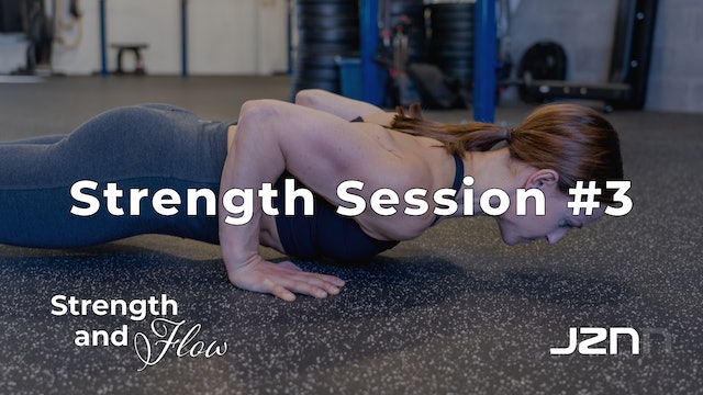 Strength Session #3 [30 Minutes]