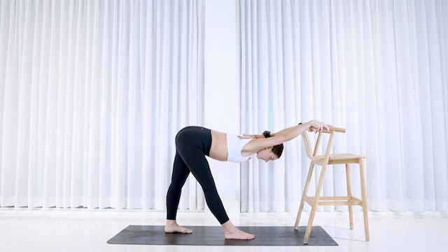 5min Standing Stretch (CHILL & SATISFYING)