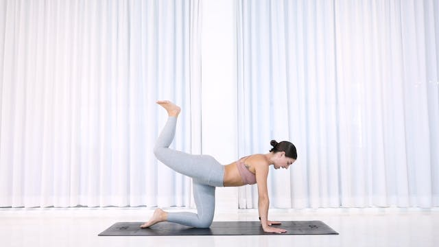 20min Booty Burn 3 (SATISFYING & INTE...