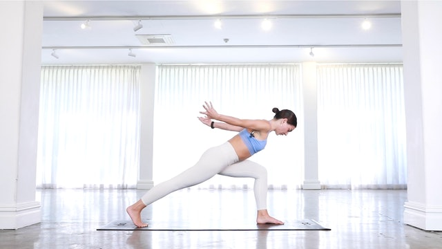 30min Yoga Inspired Power Class (SATISFYING & INTENSE)