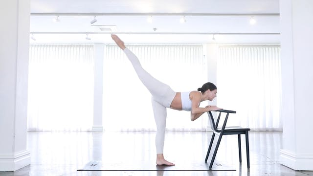 30min Barre Class with Low Chair  (IN...