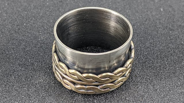 Jewelry I - Project - Spinner Ring