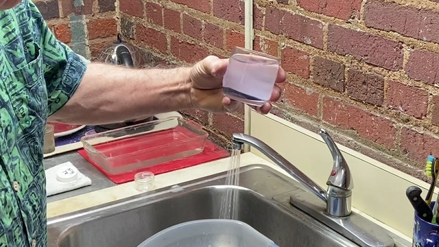 Cloisonné Enamel - Skills - Enamel Washing