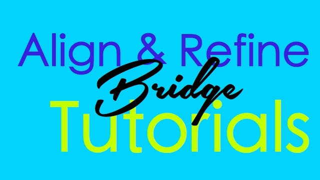 Align & Refine - Bridge