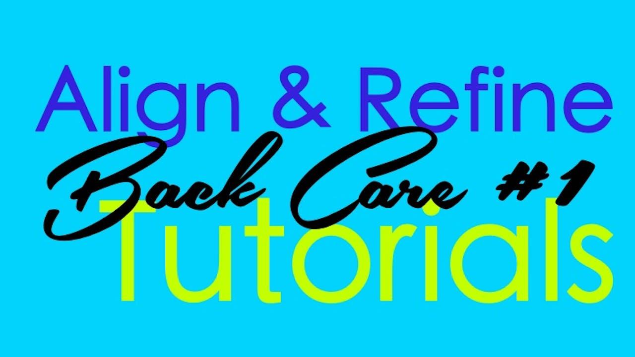 Back Care #1