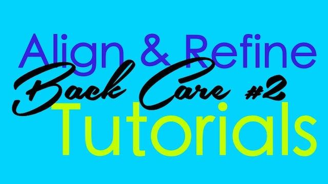 Align & Refine - Back Care #2