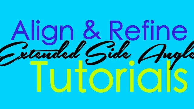 Align & Refone Tutorial - Extended Side Angle