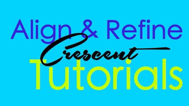 Align & Refine - Crescent/High lunge