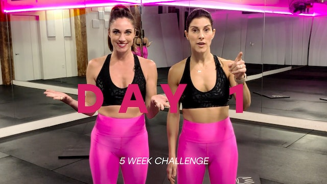Let's DO This- 5 Week Challenge