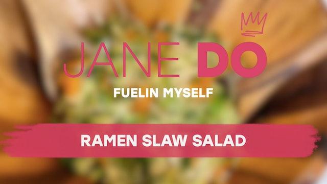 Ramen Slaw Salad