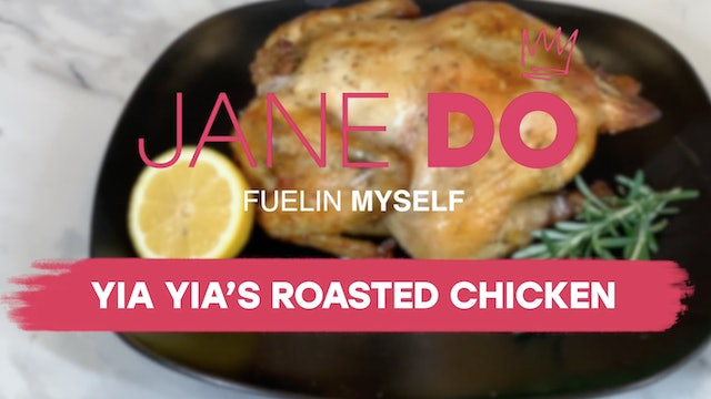Yia Yia's Roasted Chicken