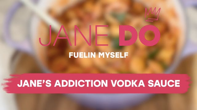 Jane's Addiction Vodka Sauce