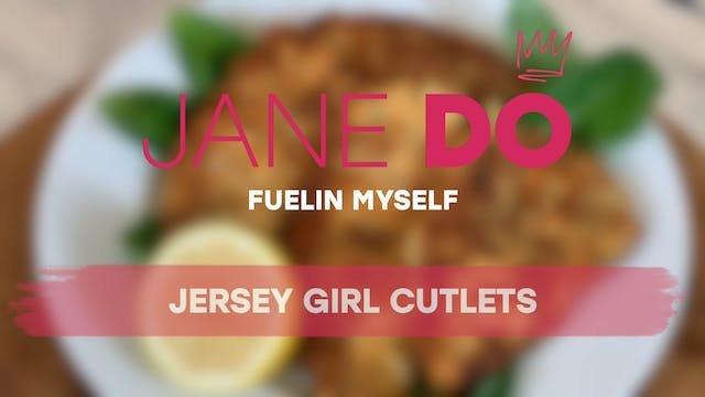 Jersey Girl Chicken Cutlets