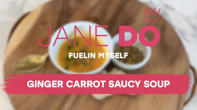 Ginger Carrot Saucy Soup