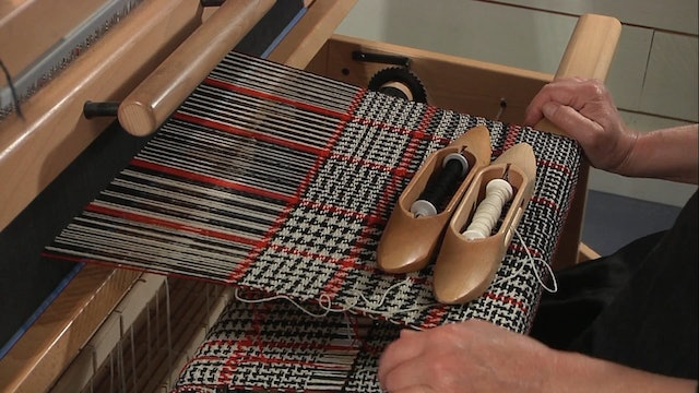 4.6.2 - Colour and Weave on Twill, At the Loom