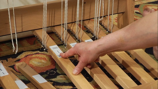 3.9.2 - Tying Up Your Treadles, Plain Weave with Supplementary Warp & Weft