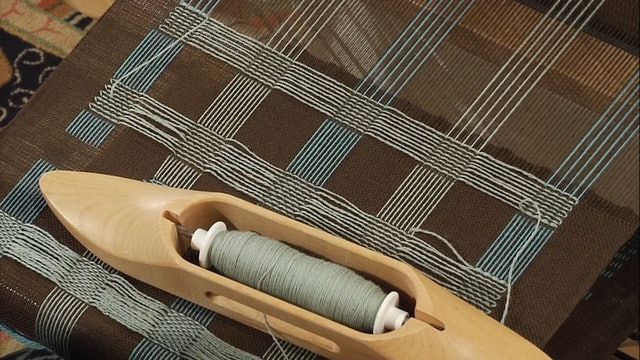 3.9.3 - Playing at the Loom, Plain Weave with Supplementary Warp & Weft