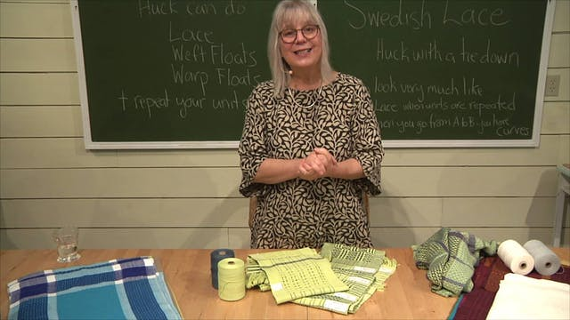 5.5.3 - Swedish Lace Show & Tell