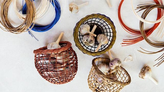 2.9.1 - Weaving a Garlic Basket